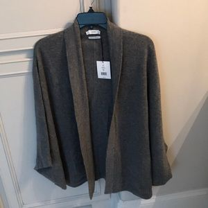Brand new Vince cashmere poncho with pockets